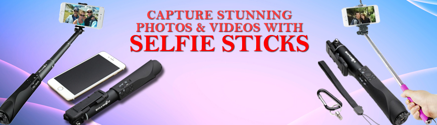 Selfie Stick for Android and iOS Smartphone