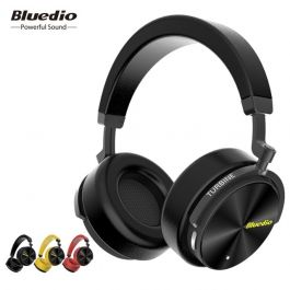 Bluedio T5 Active Noise Cancelling Wireless Bluetooth Headphones with microphone