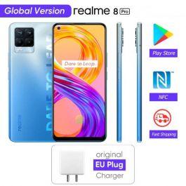 Realme 8 Pro 4G Smartphone Global Version 108MP Camera 6.4'' AMOLED Snapdragon 720G 50W Super Dart Charge
