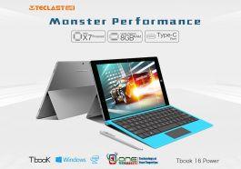 "Teclast Tbook 16 Power 11.6"" Intel Atom X7-Z8750 Processor 2 in 1 Ultrabook Tablet PC 8GB/64GB"