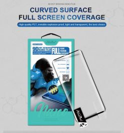 9D Hot Bending Full Cover Film Screen Protector for Samsung Note 10/10 Plus, S10/S10 Plus, S20/S20 Plus, S20 Ultra