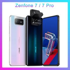 "ASUS Zenfone 7 & 7 Pro 6.67"" 5G Smartphone Global Version 8GB RAM 128GB/256GB ROM 5000mAh NFC"