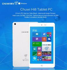 "Chuwi hi8 8"" Tablet Dual OS Windows 10 & Android 4.4 Z3736F 2GB/32GB Quad Core IPS Screen"