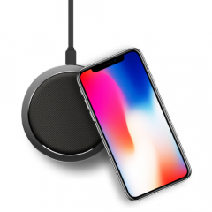 ROCK W4 2A Qi Wireless Fast Charging Disk Charger For iphone X 8/8Plus Samsung S8 S7 iWatch 3