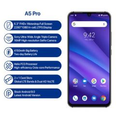UMIDIGI A5 PRO Smartphone Global Version 6.3' FHD+ Waterdrop 4GB/32GB 16MP Triple Camera 4150mAh Android 9.0