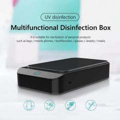 Multifunction Disinfection Sanitizer Box with Aroma Diffuser for Phone Mask Jewellery Watches Glasses