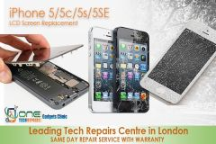 LCD Screen Replacement for iPhone 5/5s/5c/5se -  Free Complimentary Tampered Glass Screen Protector