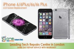 LCD Screen Replacement iPhone 6/6Plus/6S/6S Plus  -  Free Complimentary Tampered Glass Screen Protector