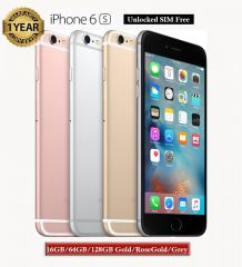 Apple iPhone 6S Unlocked Smartphone Sim Free 16GB/64GB/128GB