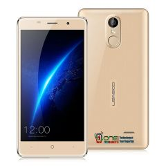 Leagoo M5 3G DualSim Smartphone 5.0 Inch Screen Android 6.0 Quad Core 2GB RAM 16GB ROM 8.0MP Camera Fingerprint ID - Gold