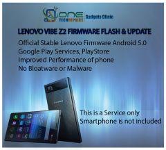 Lenovo Vibe Z2 Smartphone Firmware Installation, Update Service