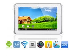"Sanei N78 Dual Core 7"" 3D Screen  8GB Android 4.4 WiFi Tablet"