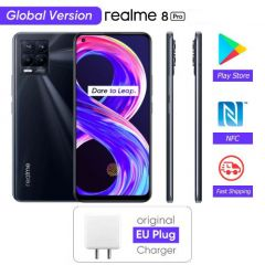 Realme 8 Pro 4G Smartphone Global Version 108MP Camera 6.4'' AMOLED Snapdragon 720G 50W Super Dart Charge