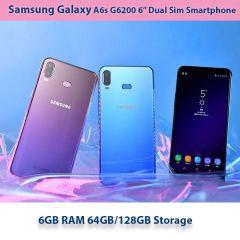 """Samsung Galaxy A6s G6200 Dual Sim Smartphone 6.0"""" 6GB RAM 64GB/128GB ROM Snapdragon 660 Octa Core"""