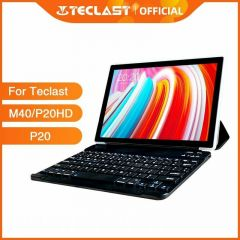 """Bluetooth Keyboard Tablet Case For Teclast M40 P20HD 10.1""""Protective Cover Wireless PU Leather"""