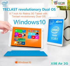 Teclast X98 Air dual OS Built in 3G Intel Bay Trail-T Tablet  64GB/4GB Tablet PC