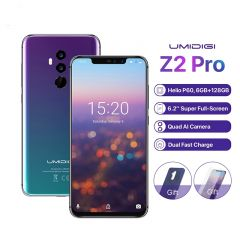 "UMIDIGI Z2 Pro 6.2"" Smartphone 6GB RAM 128GB ROM Android 8.1 16MP NFC Wireless charge"
