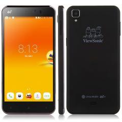 ViewSonic V500 4G LTE Smartphone 5.5 Inch 2GB/16GB Quad Core Android 4.4 Dual SIM Black