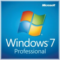Microsoft Windows 7 Pro SP1 x64 English 1 Pack DSP OEI DVD Boxed and Sealed