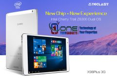 "Teclast X98 Plus 3G  Tablet 4GB/64GB 9.7"" Intel Cherry Trail Z8300  Dual OS Win10 + Android5.1"