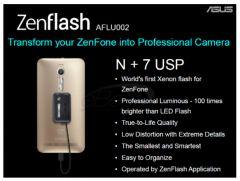 Zenflash Xenon LED Flash Light for Zenfone 2, Zoom, Max, Selfie, Deluxe, Zenfone 5 and Zenfone 6 Android Smartphones
