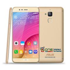 "ASUS Zenfone Pegasus 3 X008 Dual Sim Smartphone 5.2"" HD 3GB/32GB Fingerprint ID 4100mAh Battery Quad core Android 6.0 Marshmallow Gold"