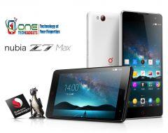 """ZTE Nubia Z7 Max 5.5"""" 4G Smartphone Android 5.1 Quad Core 2GB/32GB 13MP Black"""