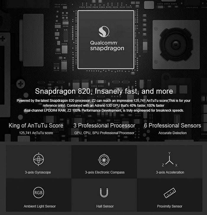 Lenovo-ZUK-Z2-5-0-in-environ-12-70-cm-4-G-LTE-Smartphone-Quad-Core-4GB-64GB-Fingerprint