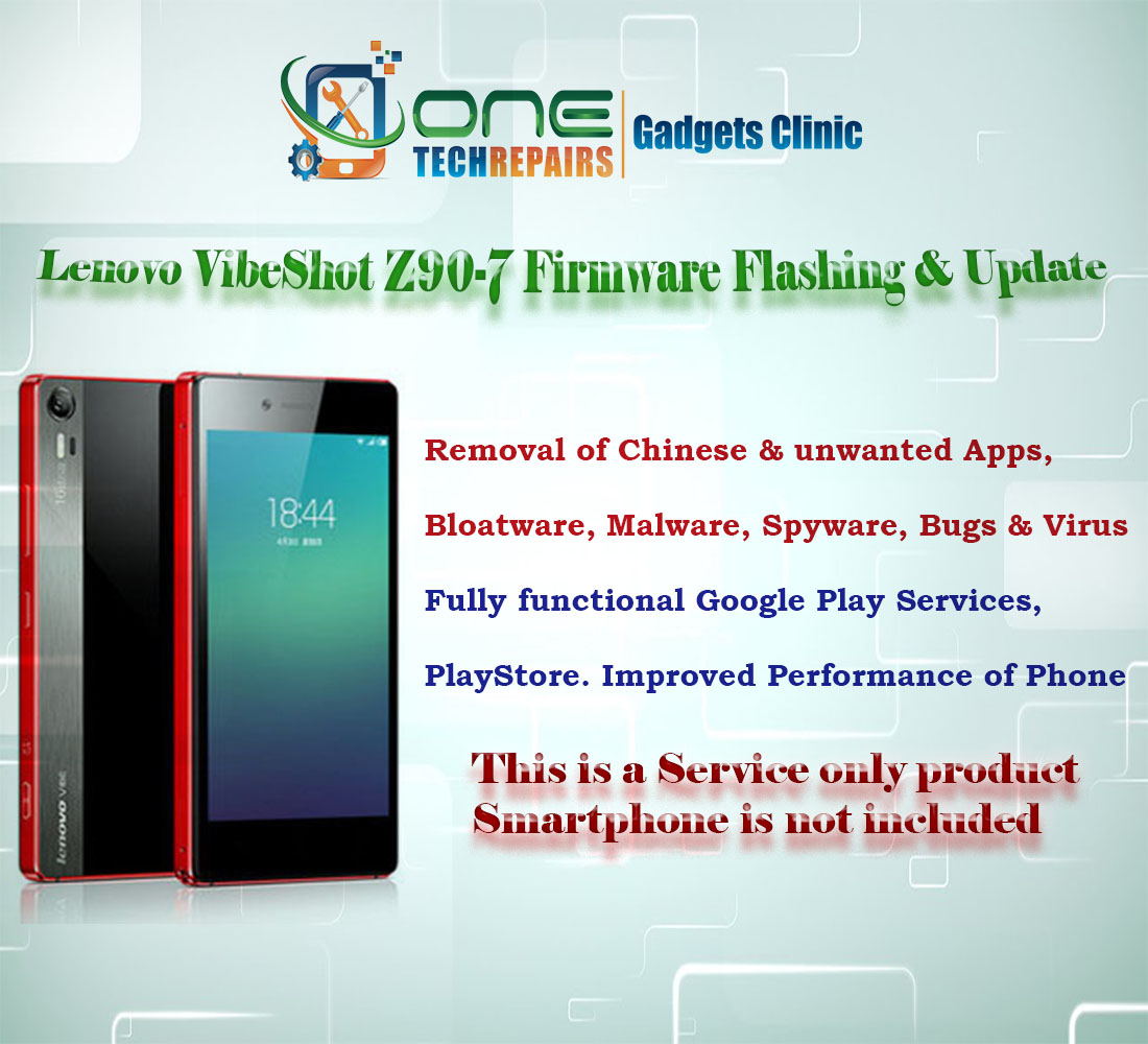 Details zu Lenovo Vibe Shot Z90-7 Smartphone Firmware Installation, Update  Service