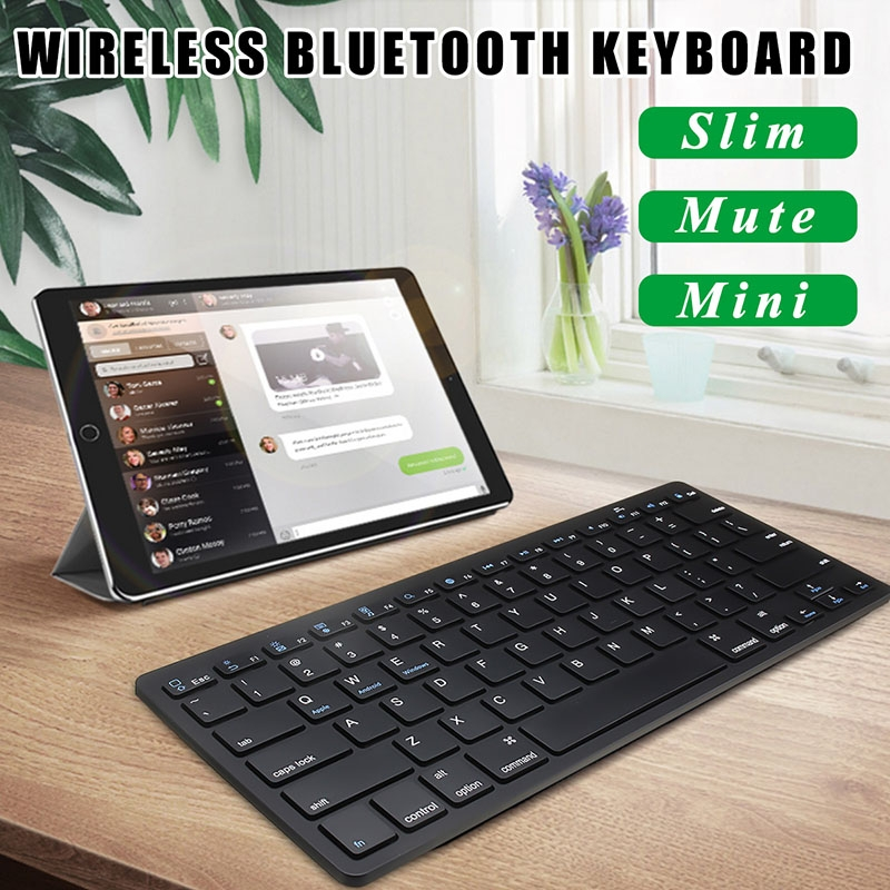 Wireless Bluetooth Keyboard for Android, iOS Phones, PC, Tablet, Mac