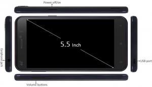 ViewSonic V500 - Cheap smartphone spec