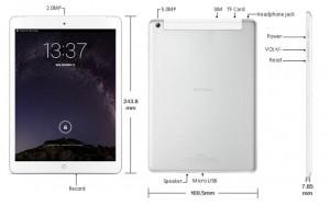 Design & build quality - Onda V919 Air Dual Boot Tablet